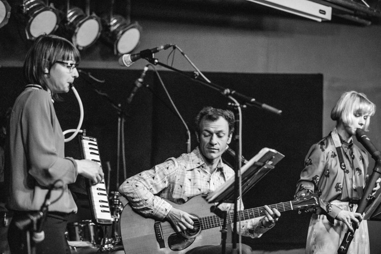 Sound of Yell + Alasdair Roberts. Glad Cafe. 2nd March 2017